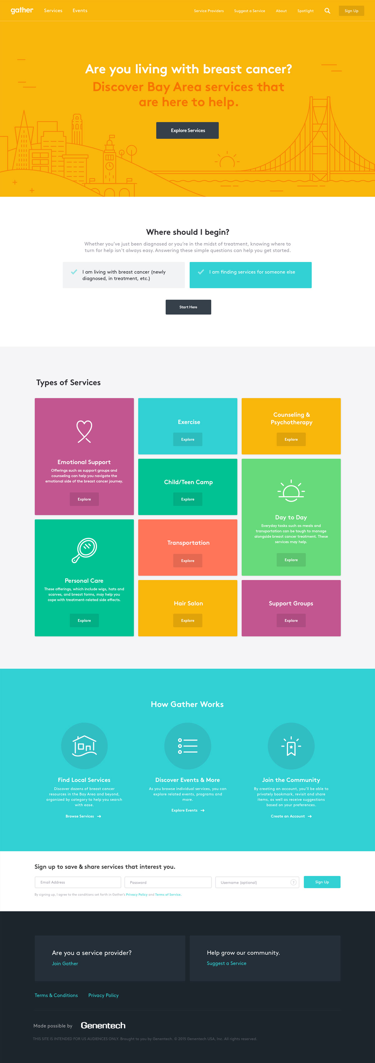 gather-screen-home