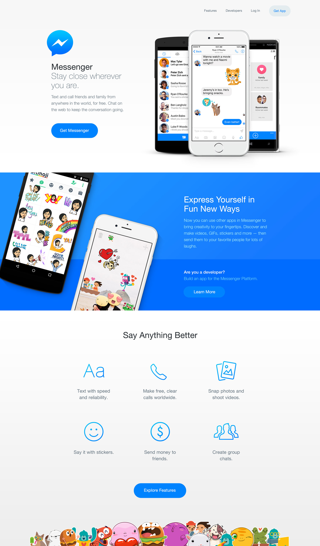 messenger-home-desktop