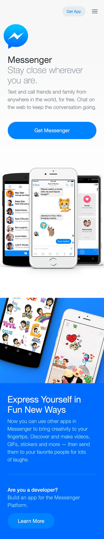messenger-home-mobile